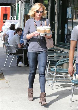 Katherine Heigl leaving Little Dom's restaurant Los Feliz October 6, 2012