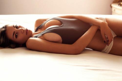Sasha Larina in lingerie