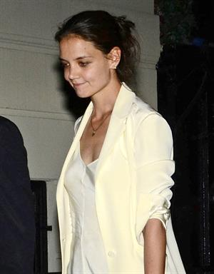 Katie Holmes Out in New York City 11th July 2012