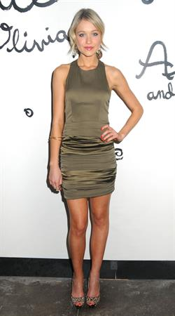 Katrina Bowden Alice and Olivia Spring 2011 Presentation on September 14, 2010 in New York City