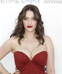 Kat Dennings - 64th Primetime Emmys Nokia Theatre LA Sept 23, 2012