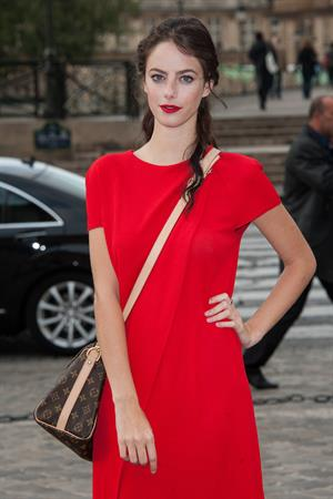 Kaya Scodelario  Paris Fashion Week - October 3, 2012