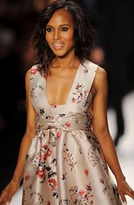 Kerry Washington 'Project Runway' Spring Show - Mercedes-Benz Fashion Week (September 6, 2013)
