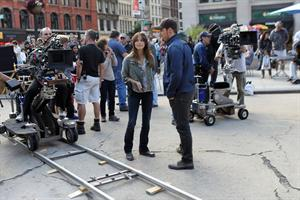 Kristin Kreuk Filming  Beauty & The Beast  in New York City - Sep. 16, 2013