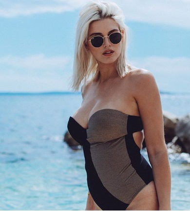Ashley James one piece swimsuit