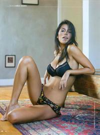 Camila Tavares in lingerie