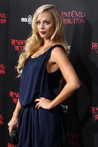Laura Vandervoort - At Regal Cinemas L.A. Live September 12, 2012