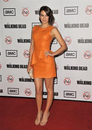 Lauren Cohan AMC's  The Walking Dead  Season 3 Premiere, Oct 5, 2012