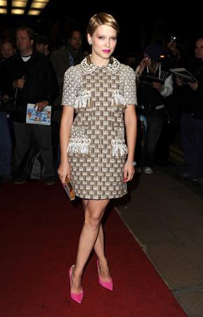 Lea Seydou 56th BFI London Film Festival: Sister (Oct 12, 2012)