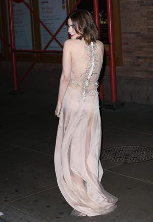Lily Collins Glamour Magazine 23rd Annual Women Of The Year Gala in New York, Nov. 11, 2013