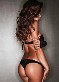 Nina Senicar in lingerie - ass