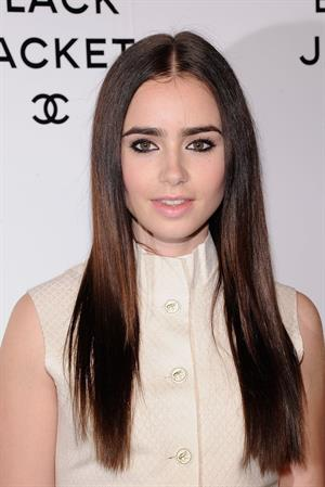 Lily Collins - CHANEL's The Little Black Jacket Event in New York City (June 6, 2012)