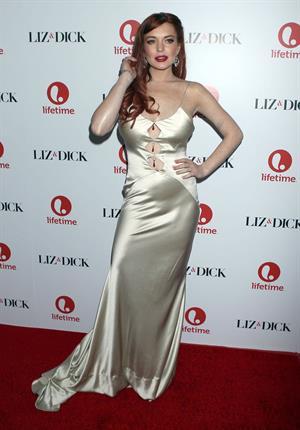 Lindsay Lohan  Liz & Dick  Los Angeles Premiere (November 20, 2012)