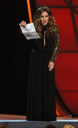 Lisa Marie Presley 46th Annual CMA Awards (November 1, 2012)