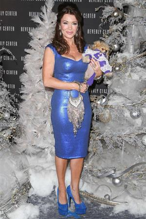 Lisa Vanderpump Beverly Center's Holiday Pet Portraits Debut (November 14, 2013)