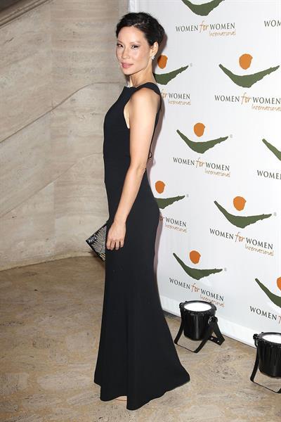 Lucy Liu Women for Women International Gala in NY 11/8/12