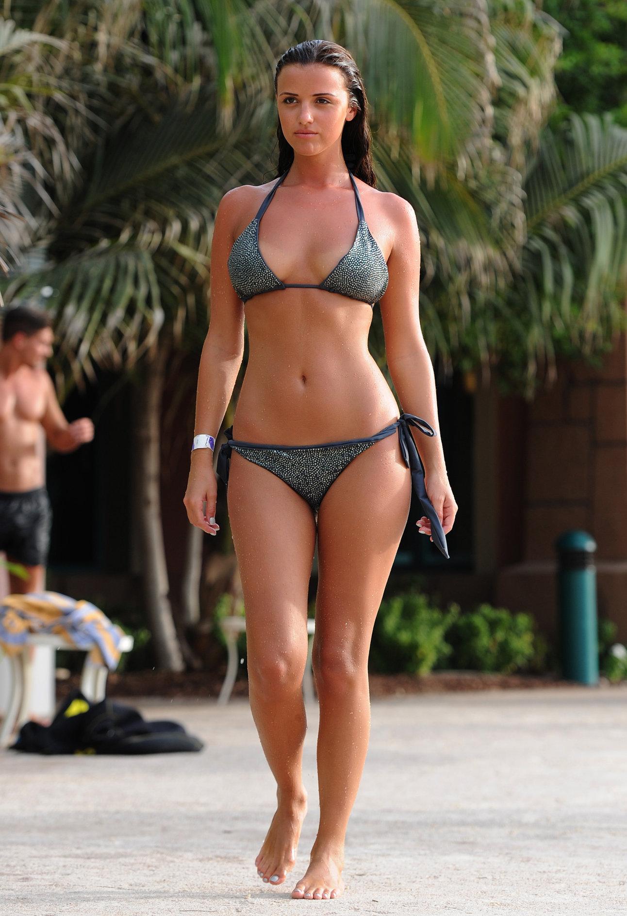 Lucy Mecklenburgh - Bikini Candids In Dubai June 18, 2012