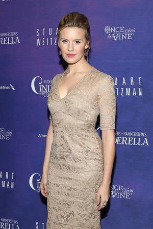 Maggie Grace 'Cinderella' Broadway Opening Night in New York 3/3/13