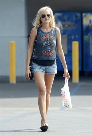 Malin Akerman out and about in LA Sept 29, 2012