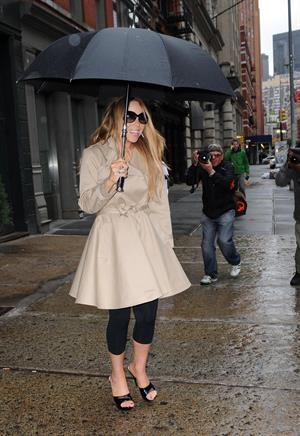 Mariah Carey Spotted in New York City (May 24, 2013)