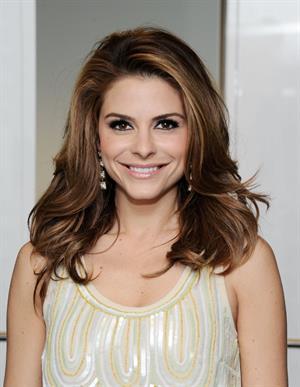 Maria Menounos at SiriusXM Studios in NY 3/8/13
