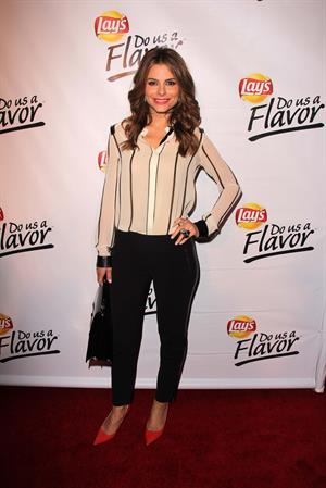 Maria Menounos Lay's Do Us a Flavor Contest hosted by Eva Longoria at Beso in Hollywood on May 6, 2013