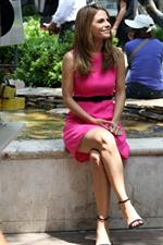 Maria Menounos On her way for EXTRA at the Grove in LA 08.05.13