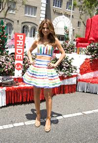 Maria Menounos LA Gay Pride Festival in West Hollywood on June 9, 2013