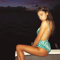 Julian Acevedo in a bikini