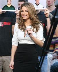Maria Menounos Maria Menounos On the set at EXTRA at the Grove in LA 11.01.13