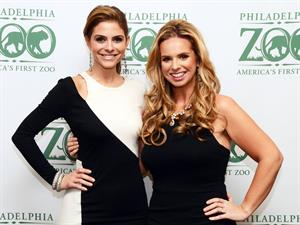 Maria Menounos Global Conservation Gala for the Philadelphia Zoo 11/1/12