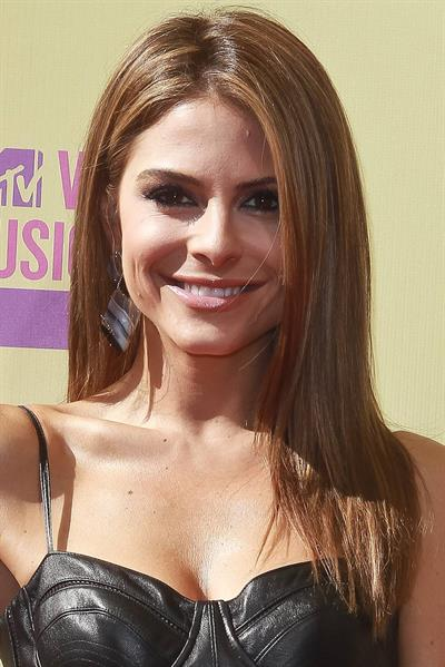 Maria Menounos - MTV Music Awards Staples Center in Los Angeles Sept 6, 2012