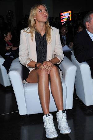 Maria Sharapova 2013 Roland Garros Women's And Men's Singles Draw in Paris May 24, 2013