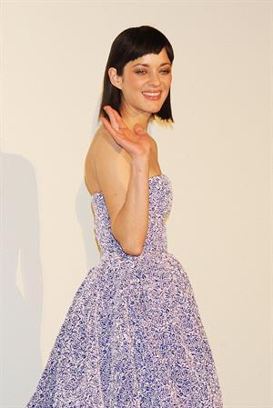 Marion Cotillard  Rust And Bone  Japan Premiere -- Tokyo, Mar. 26, 2013