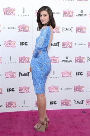 Mary Elizabeth Winstead 2013 Film Independent Spirit Awards in Santa Monica 2/23/13
