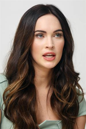 Megan Fox This is 40 Photocall in Los Angeles on November 28, 2012