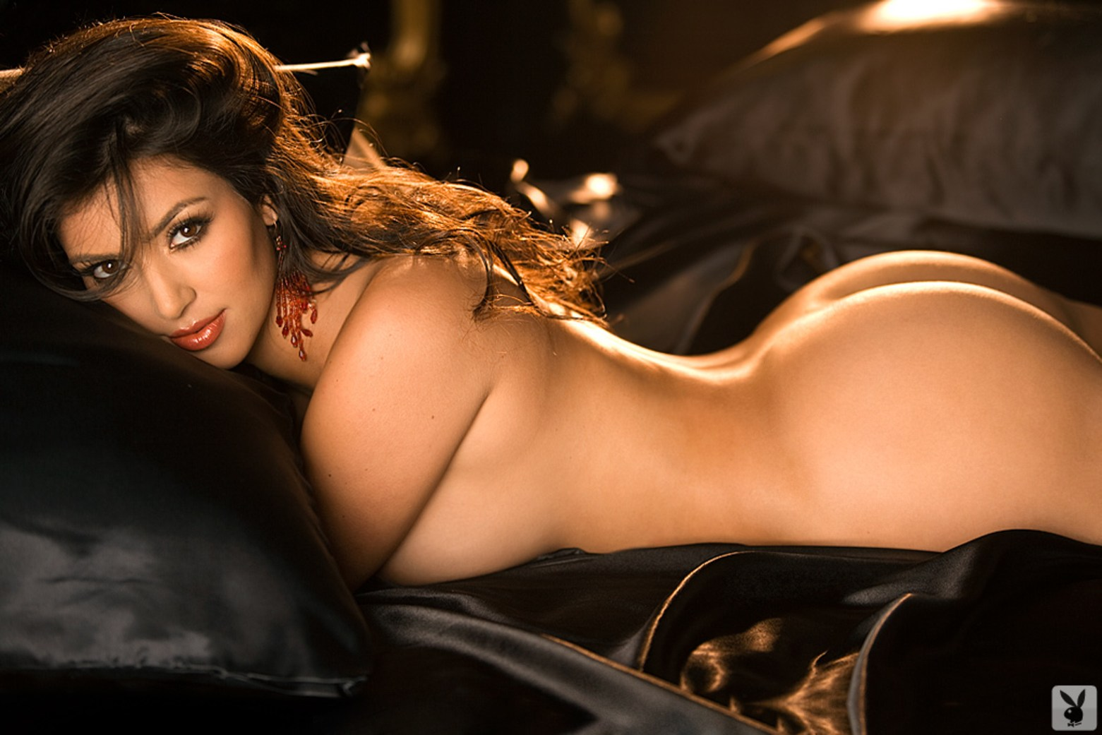 Kim Kardashian Playboy December 2007
