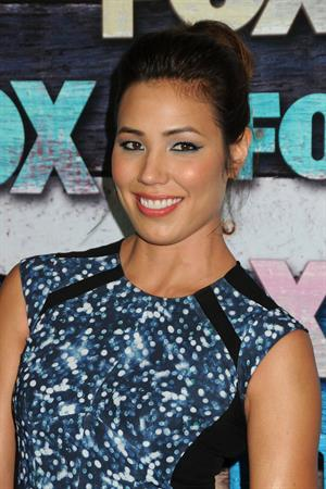 Michaela Conlin - FOX All Star Party - Los Angeles - on July 23, 2012