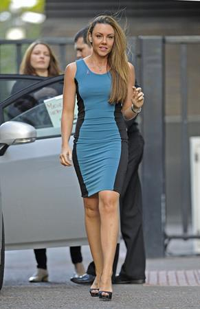 Michelle Heaton Outside The London Studios - October 9, 2012