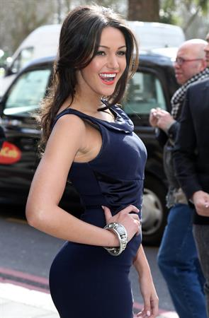 Michelle Keegan TRIC Awards, London, March 12, 2013