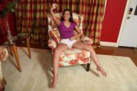 Gia Paige in  Self Portrait  for ALS Scan -