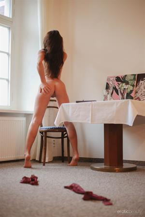 Tess Lyndon in  Artist Work  for Erotic Beauty