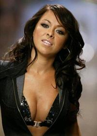 Lisa Scott Lee in lingerie