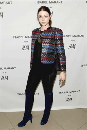 Michelle Trachtenberg H&M Isabel Marant VIP Shop Event in Hollywood, November 12, 2013