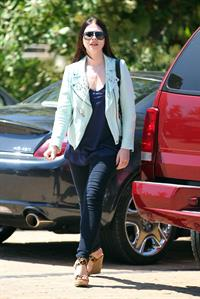 Michelle Trachtenberg - Shopping at intermix in Malibu - July 29, 2012