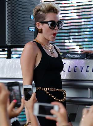 Miley Cyrus attends Y100's Mackapoolza at the Clevelander South Beach in Miami Beach - June 28, 2013