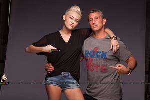 Miley Cyrus - 2012 Rock the Vote