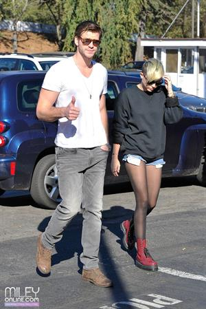 Miley Cyrus out and about in LA 11/11/12