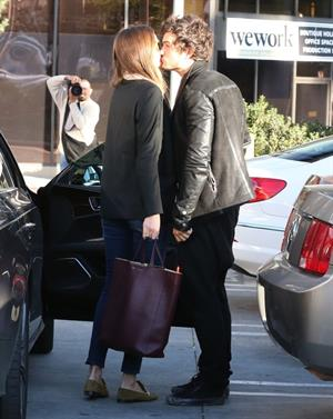 Miranda kerr outside a spa in LA on January 4th 2013