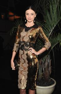 Miranda Kerr W Magazine and Dom Perignon's Pre-Golden Globes Party in Los Angeles - January 12, 2013